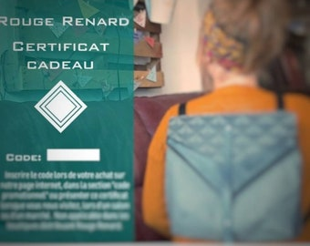 Red Fox Gift Certificate