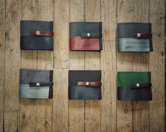 Eco-responsible men wallet