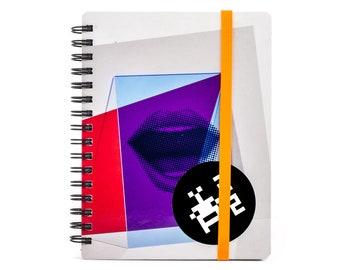 KA_LEN_DIAR 2022 UNI PAPER / no. 72 - Weekly Planner - Recycle | Handmade | Each piece is unique