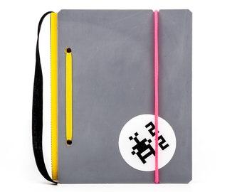 KA_LEN_DIAR 2022 UNI A6 / no. 42 - Weekly Planner - Recycle | Handmade | Each piece is unique