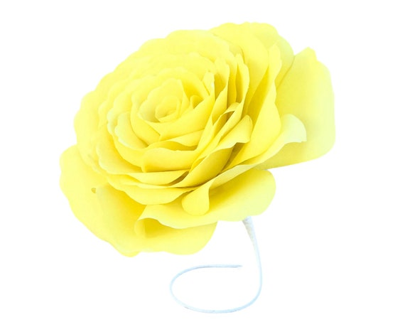 Paper rose - Filter paper flowers - Customizable colors