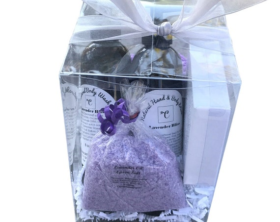 Lavender spa gift box - Gifts for Women
