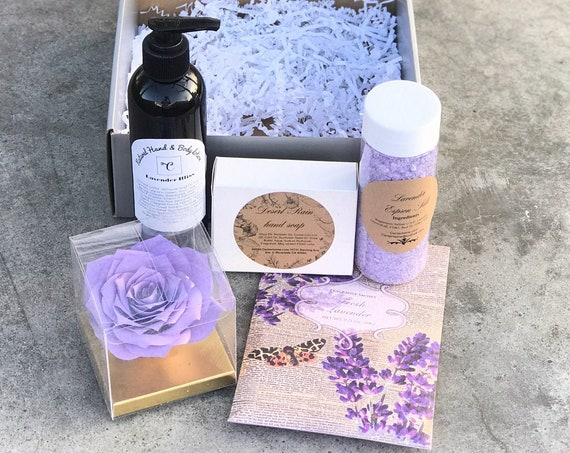 Lavender Gift Box for Women - Gift for Her