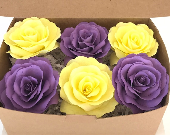 Cheer up care box - Birthday flower gift box - Customizable colors