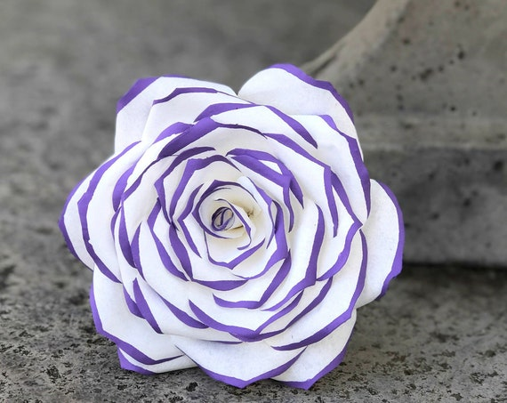 Paper Flowers - Paper Filter Roses - Customizable Colors