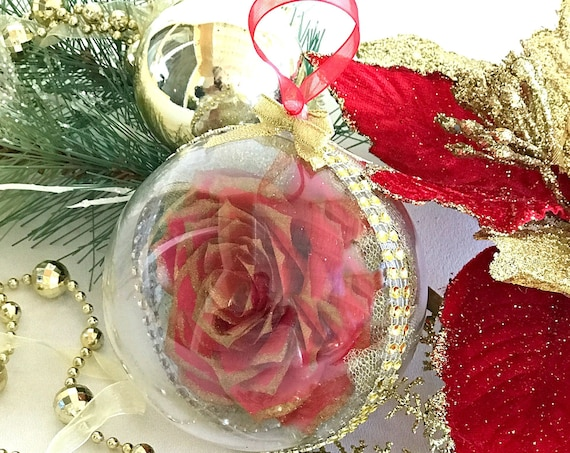Christmas Tree Ornament - Choose your color - Red ornament - Blue ornament - Purple ornament - Pink ornament - Green ornament