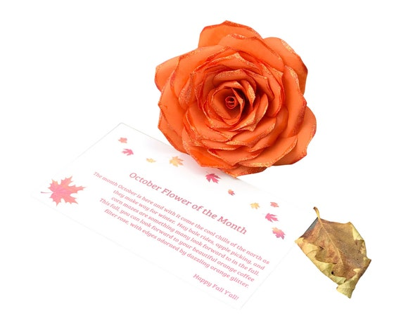 Subscription Box - Paper Flower Of The Month - Gift For Her - Mother's Day Gift