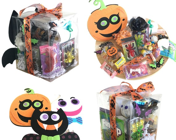 Happy Halloween Trick or treat candy gift box for kids