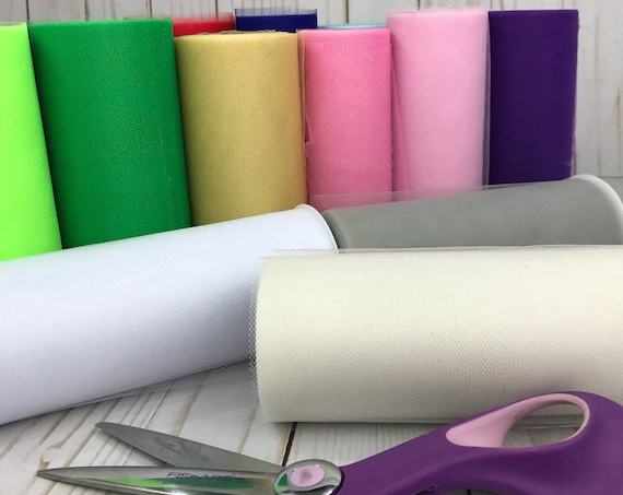 """Shimmer tulle - 6"""" x 25 yard tulle rolls"""