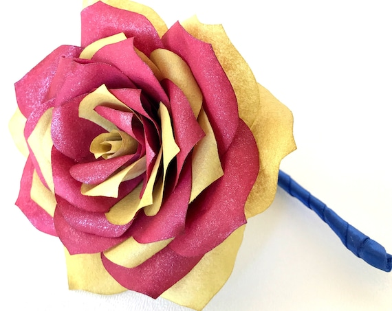 Groom boutonniere - Paper flower wedding boutonniere - Customizable colors