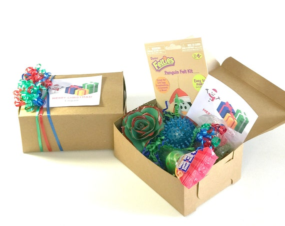 Christmas activity and treat gift box for kids - Holiday gift for children