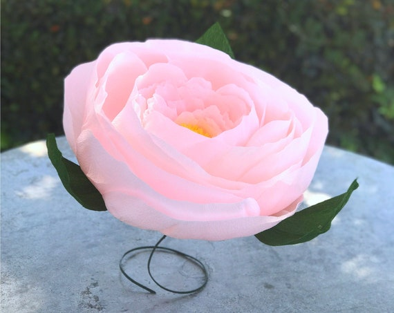 Crepe Paper Peony - Paper Flowers - Choose From 5 to 15 inches - Giant Paper Flowers