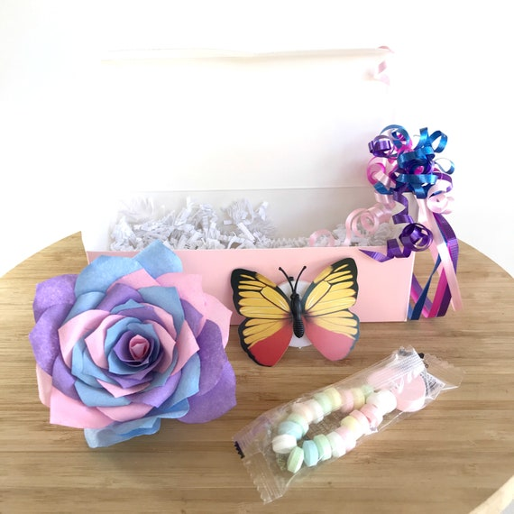 Rainbow Gift Box for Girls - Girl's Birthday Gift Box