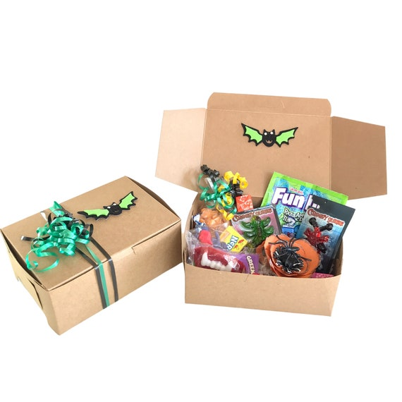 Halloween trick or treat gift box for kids