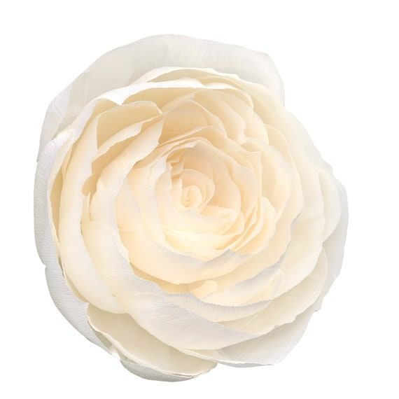 Giant crepe paper rose - Paper flower - Choose Your Color