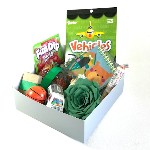 Activity gift box for boys/girls - Birthday treat and activity gift box for kids