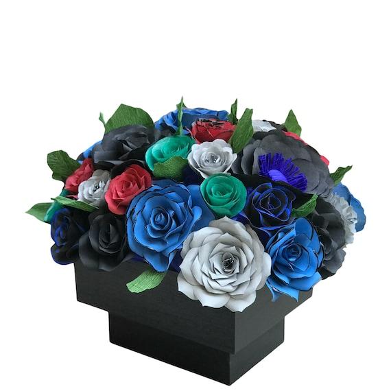 Paper Flower Centerpiece - Customizable colors