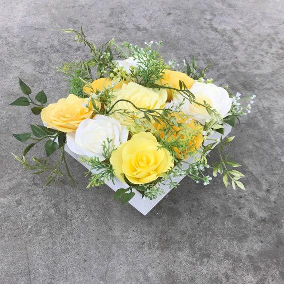 Paper Flower Centerpiece - Color Choices
