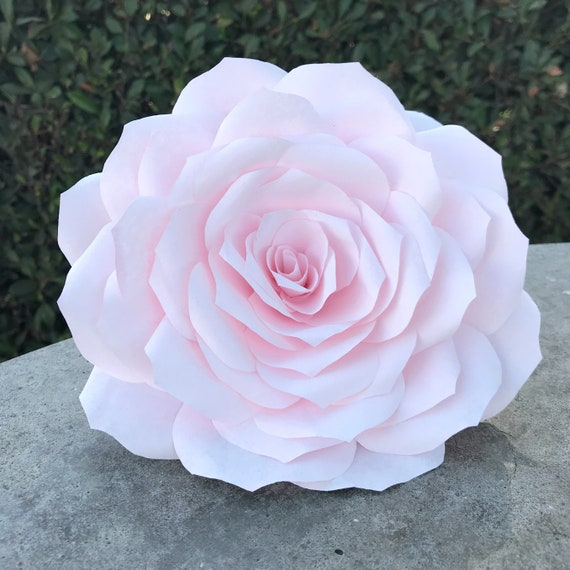 Giant paper rose - Paper flower - Color choices