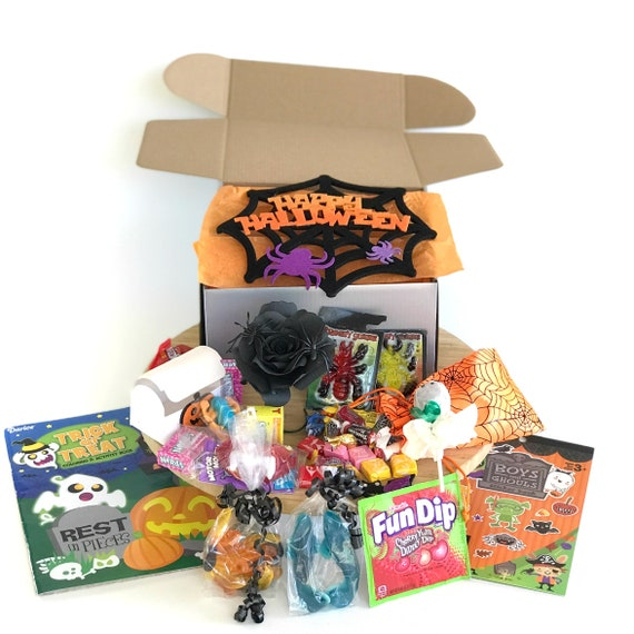 Halloween activity gift box for kids - Trick or treat candy gift for children
