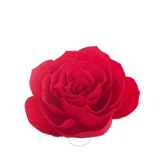 Crepe Paper Rose - Paper flowers - Choose your color