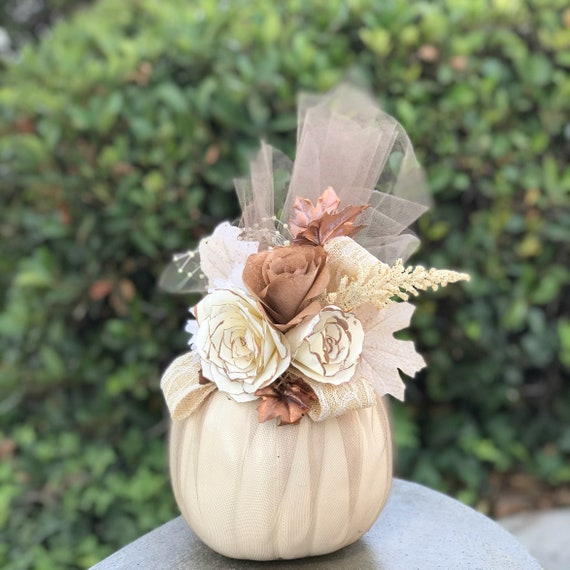 Rustic Wedding Decor - Fall table decor