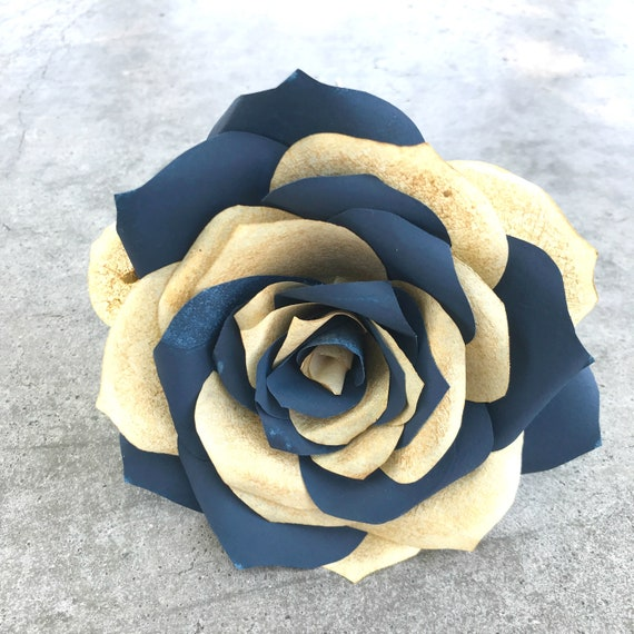Paper Rose with multicolor petals - Colors are customizable