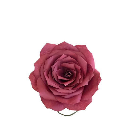 Paper roses - Coffee Filter flowers - Customizable colors