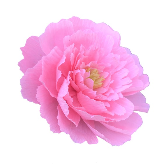 Crepe paper tree peony - Paper Flowers - Many Color Choices
