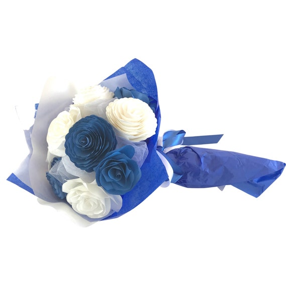 Customizable Color Paper Flower Gift Bouquet