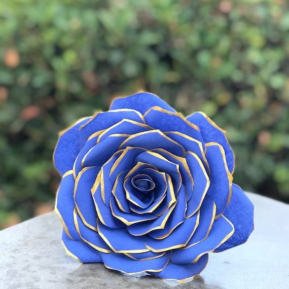 Paper Filter Roses in Customizable Colors