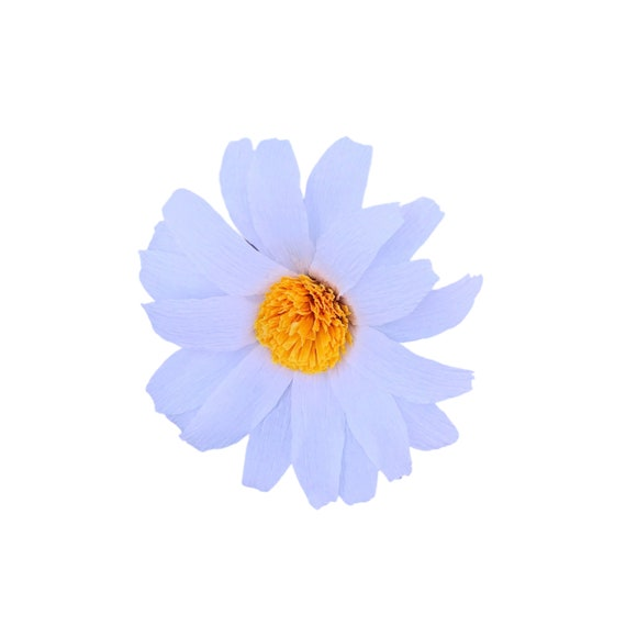 Daisy - Crepe paper daisy - Paper flower
