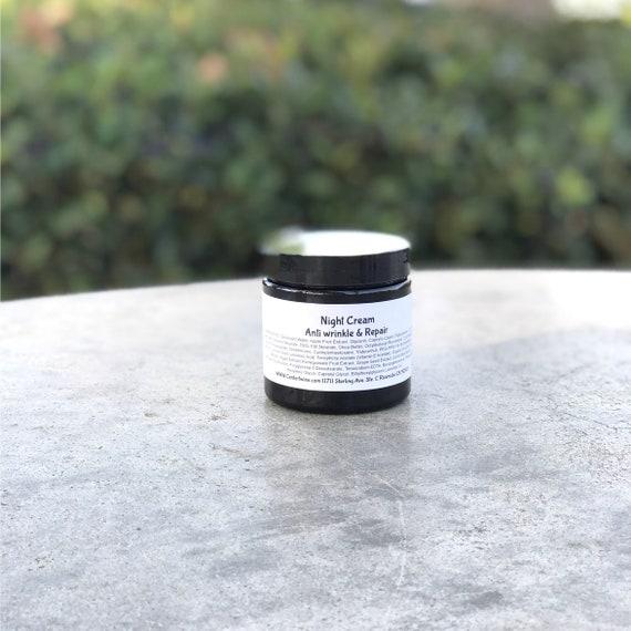 Natural Night Cream - Rejuvinating Face Cream