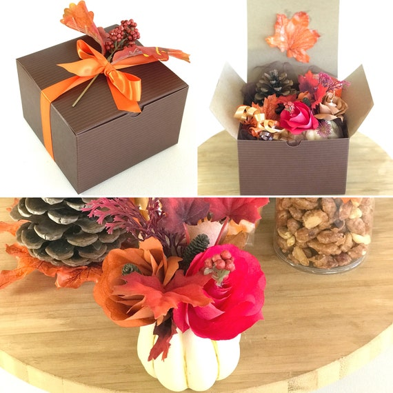 Fall gift box - Thanksgiving gift - Happy Thanksgiving party gift