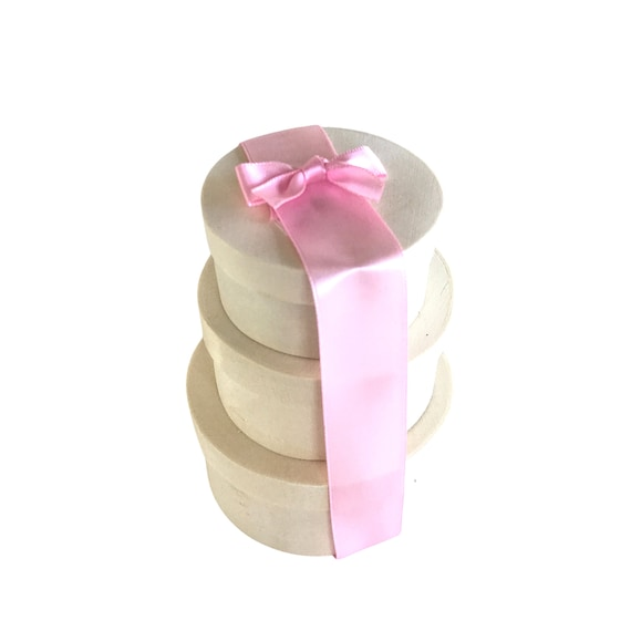 Gift Box Trio - Tiny gift tower - Treat gift tower