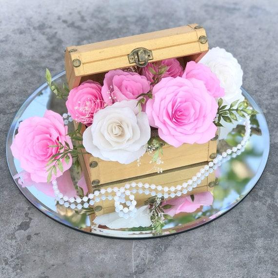 Floral Centerpiece - Wedding Table Decor - Colors Are Customizable
