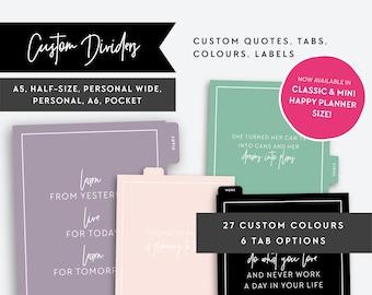 Custom Colour Inserts