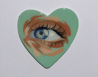 Candy Heart Painting
