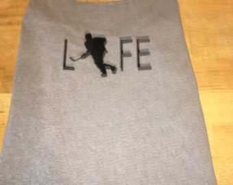 My life with hockey player tank top all colors hockey mom or dad b29949bbf64d
