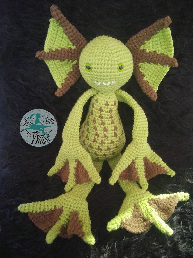 Mint Monster/ creature/ swamp monster/ monster image 0