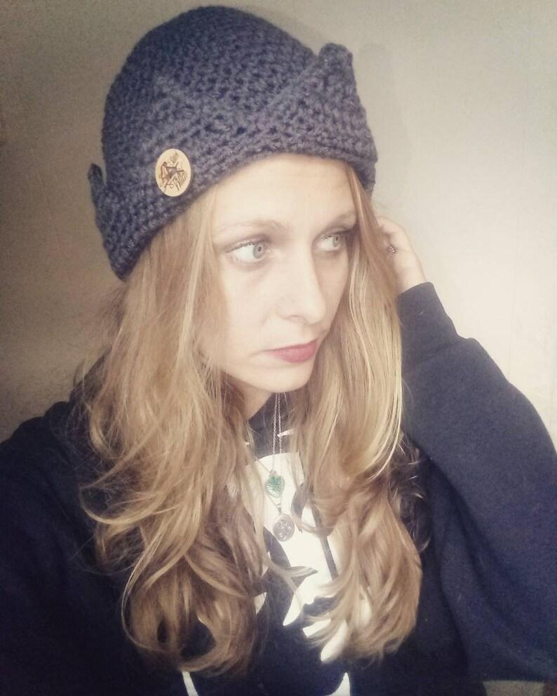 Jughead/crown beanie/Jughead hat/crown hat image 0