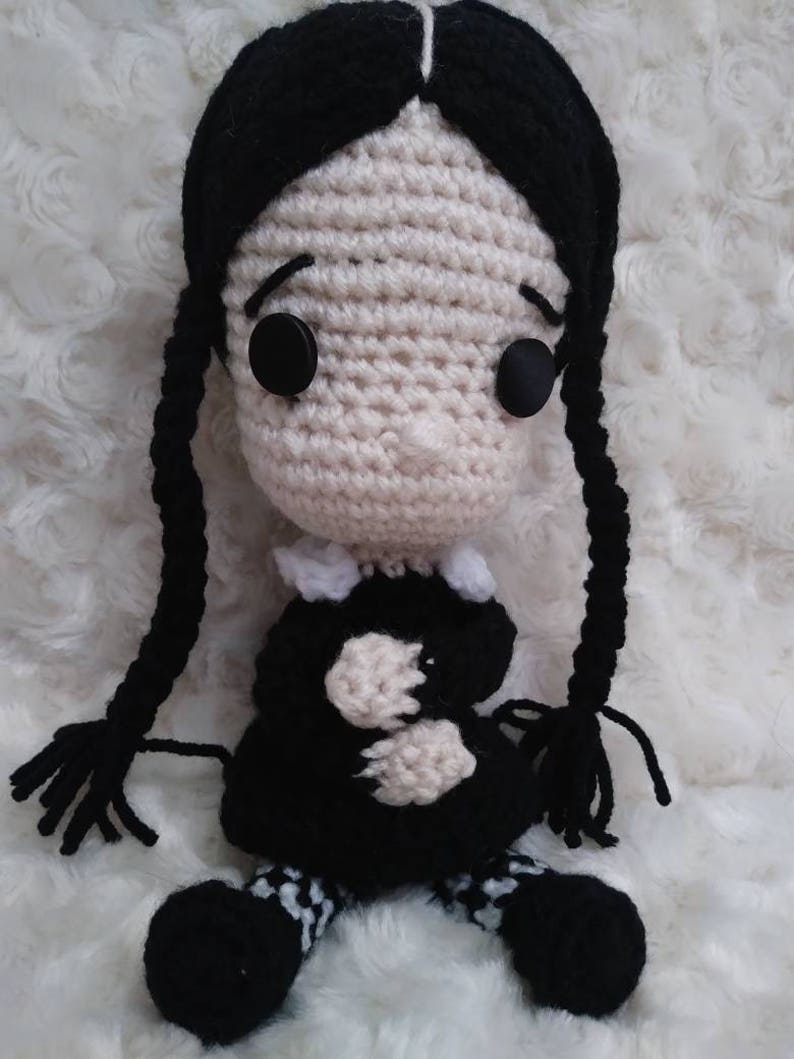 Wednesday Addams Doll image 0