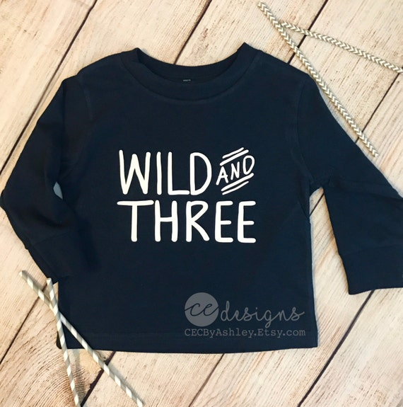 Birthday Shirt 3 Year Old Long Sleeve