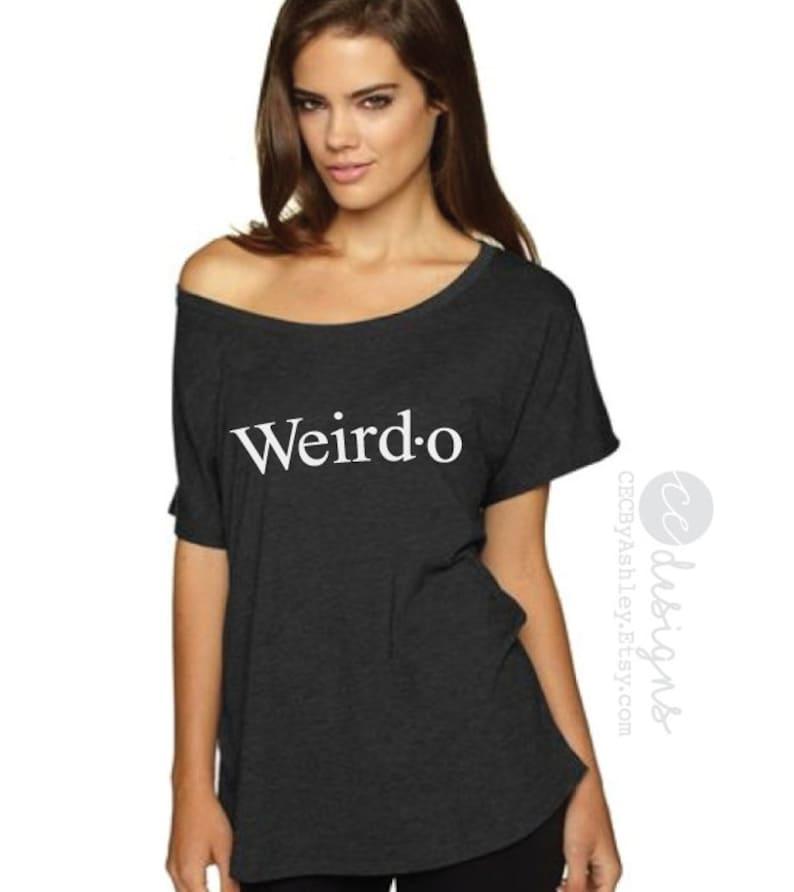 14cc1d5db227 Slouchy shirt weird shirt off the shoulder weirdo shirt | Etsy