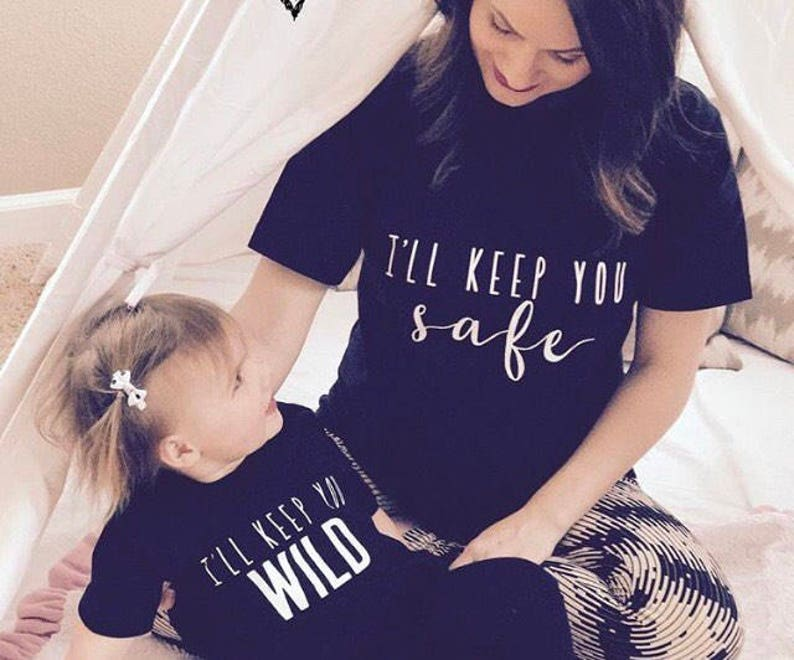 381e31e95 Mommy and me mom and son shirt SET OF 2 SHIRTS matching