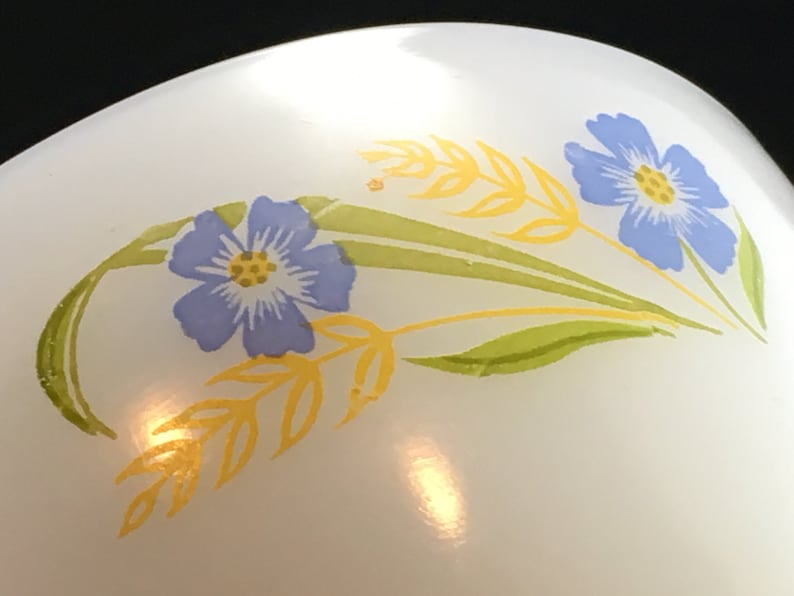 Made in USA More Available Vintage Fire King Forget Me Not Teacup