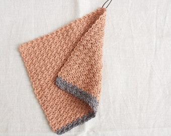 Dishcloth blush-grey - dishcloth made of wool, reusable, washable, sustainable