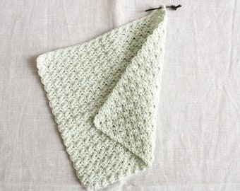 Rinse towel mint - washing cloths/washcloths made of wool, reusable, washable, sustainability