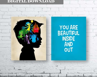Inside Out Quotes Etsy