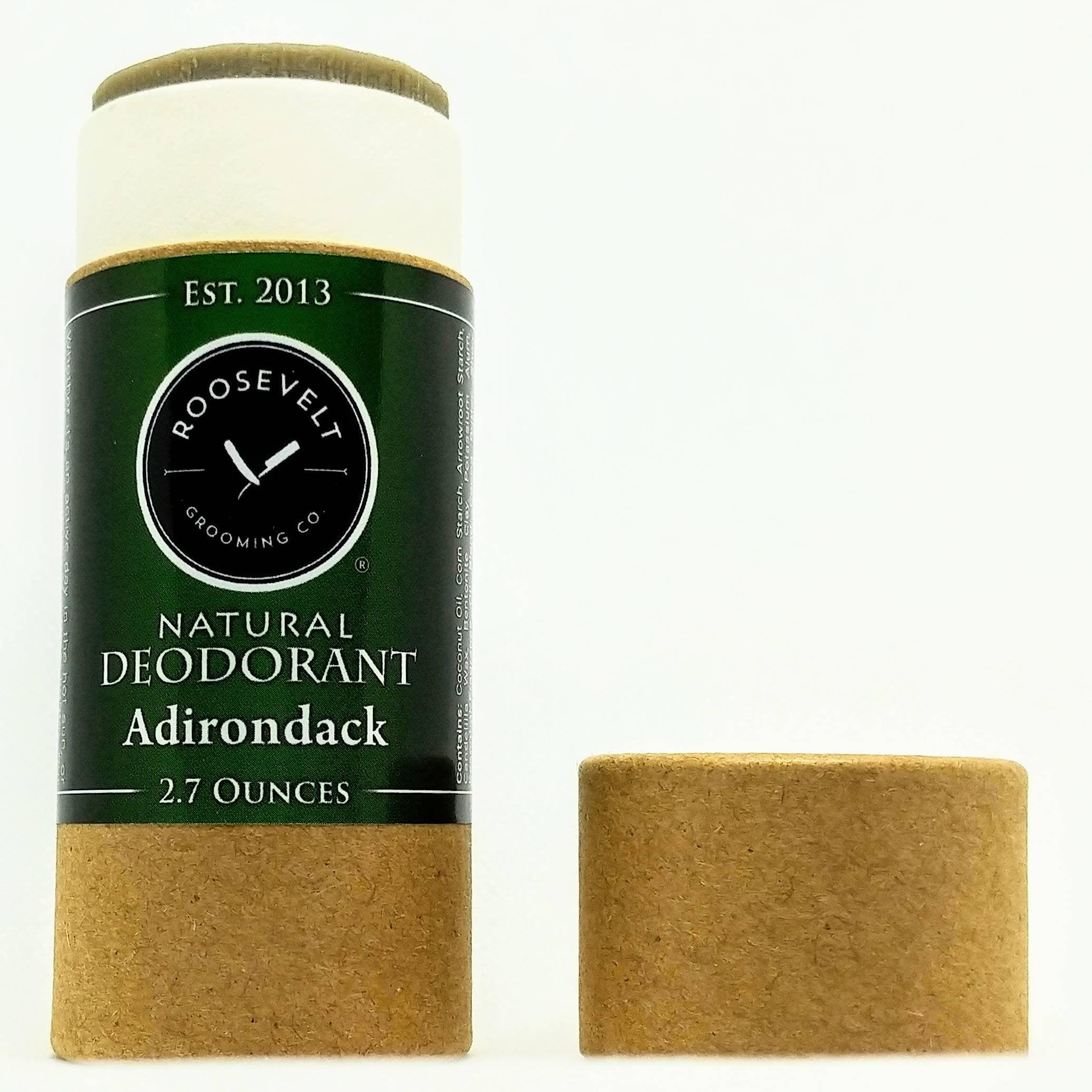 Natural Deodorant Stick w/o Baking Soda or Parabens (That